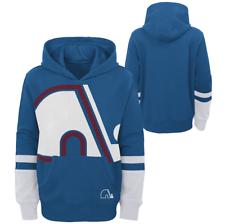 Молодежь Colorado Avalanche синий специальное издание большой циферблат пуловере с капюшоном