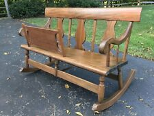 EARLY MAMMY ROCKING CHAIR BENCH