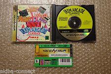 "Irem Arcade Classics ""Good Condition"" Sega Saturn Japan"