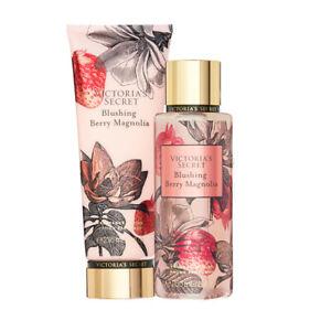Victoria's Secret Blushing Berry Magnolia Fragrance Lotion + Mist Duo Set