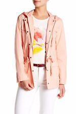 J.Crew Factory Coastal Pink XS Poplin Parka Jacket F1033 Hooded Cotton NWT