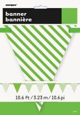 Pancartas y guirnaldas de fiesta de papel, bandera de color principal multicolor