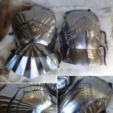 Medieval Highly Decorative Gothic Cuirass 16 Gauge Steel Ideal for Re-enactment