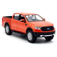MAISTO 1:27 2019 FORD Ranger Orange DIECAST MODEL CAR NEW IN BOX