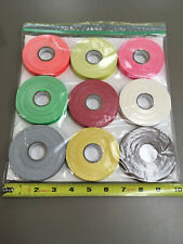"""Spike Tape Pack 1/2"""" X 20yd Nine Different Color Rolls. Premium Quality Gaffers"""