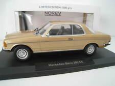 Mercedes-Benz 280 CE in gold  Limitiert auf 1.500 Stück  Norev 1:18  OVP  NEU