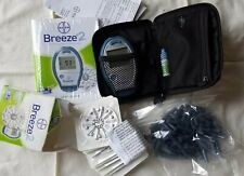 Bayer Breeze 2 Blood Glucose Monitoring System . (9570A) with test discs