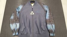 AL WISSAM LIMITED EDITION HAND DYED LEATHER BOMBER JACKET SIZE 2X - BRAND NEW!!