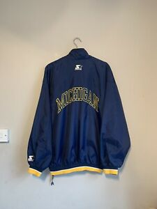 American Football 1/4 Zip Jacket Size XL With Large Embroidered Spell Out
