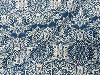Jacquard Barroco Floral Vintage Adamascado Tela Cortina Material 140cm Ancho