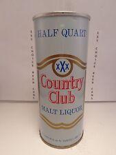 COUNTRY CLUB MALT LIQUOR 16oz STRAIGHT STEEL PULL TAB BEER CAN #148-19