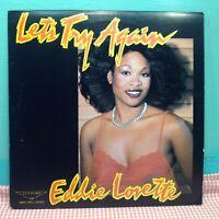 Eddie Lovette - Let's Try Again (1983) K&K Vinyl LP Record