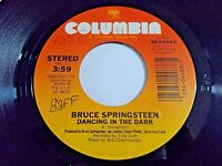 Bruce Springsteen Dancing In The Dark / Pink Cadillac 45 1984 Vinyl Record