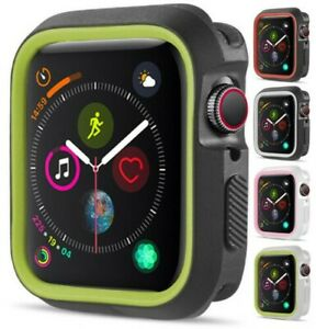 New TPU Case Flexible Rubber Trim Cover for Apple Watch (Series 4, 44mm)
