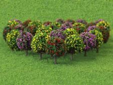 30pcs Mix Flower Model Ball Tree Train Garden Park Diorama Scenery 1:100 HO