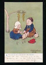 Artist G E SHEPHEARD Romance Forget-me-nots Tuck #680 1904 PPC
