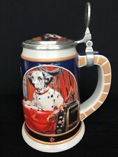 "Anheuser-Busch ""Separated at Birth"" Ceramic Budweiser Dalmatian Dog Fireman"