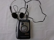 Vintage Aiwa HS-TA353W Walkman with Headphones