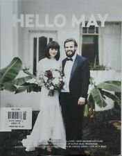 Hello May UK Issue 15 2016 Over 50 Pages Real Weddings Bridal FREE SHIPPING sb