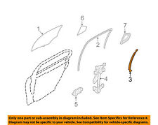 FORD OEM Glass-Rear Door-Retainer Right 6E5Z5425796A