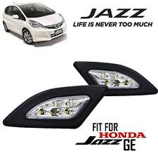 2x Daytime Running Lights Lamps LED DRL Cover Fit For HONDA JAZZ 2008-2011