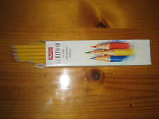 Berol Verithin Yellow Ochre colour pencils, 12 in pack, new