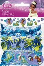 TIANA  CONFETTI  Disney Princess & Frog birthday party supplies purple & blue