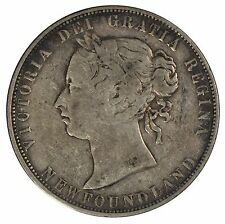 1874 Newfoundland 50 cent Half Dollar - ICCS VG10 - See Photos
