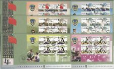 China Hong Kong 2004 FDC People's Liberation Army Forces stamp S/S x 6