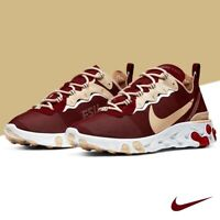 Nike React Element 55 Florida State FSU CK4838 600 Size 11 Men's