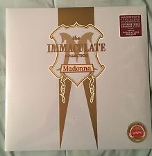 MADONNA THE IMMACULATE COLLECTION 2 LP BLUE/GOLD COLORED VINYL RHINO NEW SEALED