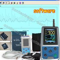 CONTEC ambulatoire Tensiomètre,sphygmomanomètre+ USB Logiciel, 24h PNI Holter,CE