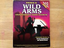 Prima Wild Arms 1 Playstation 1 PS1 Unauthorized Game Secrets Guide