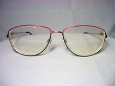 Metzler eyeglasses 22 kt gold plated Cat's Eye oval women's frames fine vintage