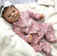 "19"" Reborn Preemie Baby Doll Handmade Real Soft Touch Baby Collectible Art Doll"