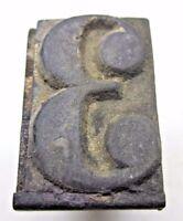 """Number 3 Rubber Hand Stamp Wood Handle 1-1/16"""" School Desk Office Vintage"""