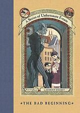A Series of Unfortunate Events - The Bad Beginning by Lemony Snicket (HB)