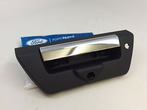 2018 2019 Ford F-150 XLT Chrome Finish Rear Tailgate Door Open Handle OEM