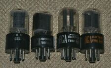 4 RCA 6SN7 Vacuum Tubes Test Strong to NOS on TV7 D/U Tester JAN CRC