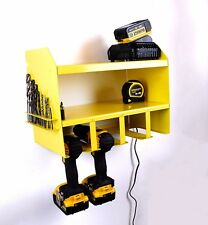 Dewalt Drill Driver Battery Tool Rack Shelving Storage Holder Workshop Organiser