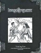 LIVING GREYHAWK TRIAL BY FIRE VF! UNCUT CTRS RPGA Module D&D Dungeons Dragons