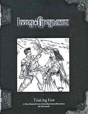 LIVING GREYHAWK TRIAL BY FIRE VF! UNCUT CTRS RPGA Module D&D Dungeons Dragons