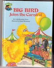Sesame Street  BIB BIRD JOINS THE CARNIVAL  Muppets Ex+
