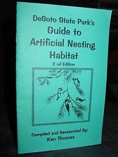 Desoto State Park Guide Artificiel Nesting Habitat, Construction Oiseau Boîtes
