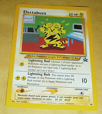 POKEMON BLACK STAR PROMO CARD - #46 ELECTABUZZ
