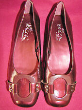 Dressy Flat Shoes Wine Colored by SBICCA of California Size 8M