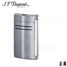 S.T. Dupont Accendino Maxi Jet Grigio Satinato Grey Lighter Feuerzeug Briquet