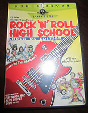 ROCK N ROLL HIGH SCHOOL DVD The RAMONES P.J. SOLES Rock On Edition W/ Insert