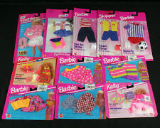 Lot of 11 NOS Mattel Barbie, Kelly, Skipper & Stacie Fashions, Clothes, Outfits