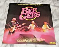 """The Bee Gees - I've Gotta Get A Message To You 12"""" LP Vinyl Record"""